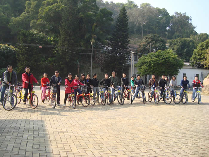 'Low Carbon' Bicycle Greenway Travel in Zengcheng, Guangzhou